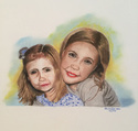 Portrait of My Great Nieces